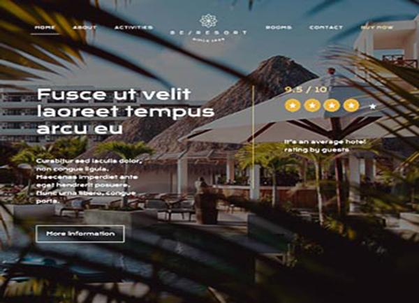 wordpress-otel-tanitim-web-tasarim-rizort